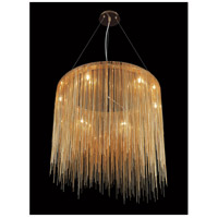 Avenue Lighting HF1202-G Fountain Ave LED 24 inch Gold Hanging Chandelier Ceiling Light