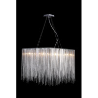 Avenue Lighting Fountain Avenue 8 Light Pendant in Chrome HF1203-CH