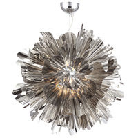 Bowery Lane LED 28 inch Chrome Hanging Pendant Ceiling Light