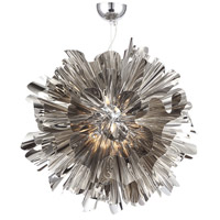 Bowery Lane LED 20 inch Chrome Hanging Pendant Ceiling Light