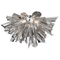 Bowery Lane 7 Light 28 inch Chrome Flush Mount Ceiling Light