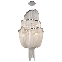 Mullholand Drive 6 Light 20 inch Polished Chrome Foyer Chandelier Ceiling Light