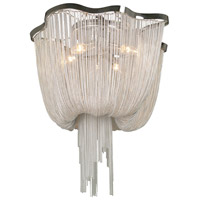 Avenue Lighting Mulholland Drive 4 Light Flush Mount in Polish Chrome Chain HF1403-CH