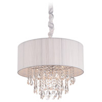 Vineland Ave 6 Light 19 inch White Silk String Hanging Chandelier Ceiling Light