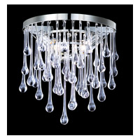 Avenue Lighting Hollywood Blvd. 2 Light Wall Sconce in Polish Nickel with Clear Glass Tear Drops HF1800-PN