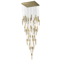 Avenue Lighting HF1903-41-AP-BB Aspen LED 36 inch Brushed Brass Flush Mount Pendant Ceiling Light
