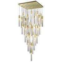 Avenue Lighting HF1903-41-BOA-BB Boa 41 Light 35 inch Brushed Brass Pendant Ceiling Light