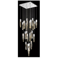 Avenue Lighting HF1904-25-AP-CH Aspen LED 28 inch Chrome Flush Mount Pendant Ceiling Light