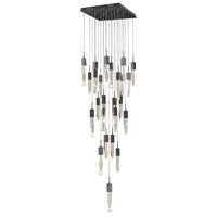 Aspen LED 28 inch Dark Bronze Pendant Ceiling Light