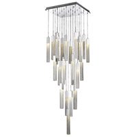 Avenue Lighting HF1904-25-BOA-CH Boa 25 Light 28 inch Polished Chrome Pendant Ceiling Light
