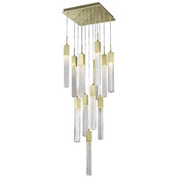Avenue Lighting HF1905-13-BOA-BB Boa 13 Light 20 inch Brushed Brass Pendant Ceiling Light