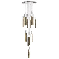 Glacier Avenue LED 20 inch Polished Chrome Flush Mount Pendant Ceiling Light