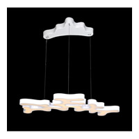 Avenue Lighting Coral Reef Court LED Linear Pendant in White HF2000-WHT