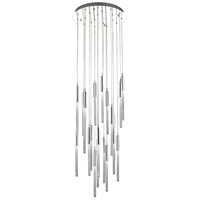 Avenue Lighting HF2021-BOA-PN Boa 21 Light 22 inch Polished Nickel Pendant Ceiling Light