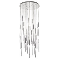 Boa 31 Light 30 inch Polished Nickel Pendant Ceiling Light