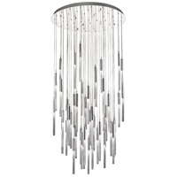 Boa 51 Light 37 inch Polished Nickel Pendant Ceiling Light