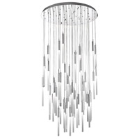 Avenue Lighting HF2051-FR-PN Main St. 51 Light 37 inch Polished Nickel Pendant Ceiling Light