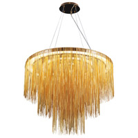 Fountain Avenue 18 Light 30 inch Chrome Pendant Ceiling Light