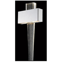 Glacier Avenue LED 11 inch Polished Nickel Wall Sconce Wall Light
