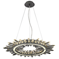 Dark Bronze Iron Chandeliers