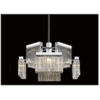 Broadway 8 Light 28 inch Polished Nickel Chandelier Ceiling Light