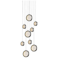 Avenue Lighting HF5019-PN Bottega LED 19 inch Polished Nickel Pendant Ceiling Light