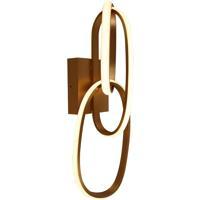 Avenue Lighting HF5022-GL Circa LED 6 inch Gold Wall Sconce Wall Light