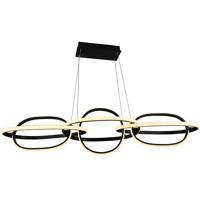 Avenue Lighting HF5025-BK Circa LED 21 inch Black Hanging Pendant Ceiling Light
