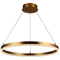 Avenue Lighting HF5027-GL Circa LED 24 inch Gold Hanging Pendant Ceiling Light
