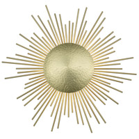 Avenue Lighting HF5099-HBB Marquee Ave 3 Light 22 inch Hammered Brushed Brass Wall Sconce Wall Light Convertible to Flush Mount