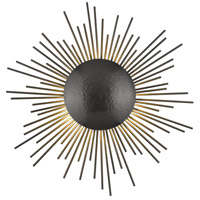 Avenue Lighting HF5099-HDBZ Marquee Ave 3 Light 22 inch Hammered Dark Bronze Wall Sconce Wall Light Convertible to Flush Mount