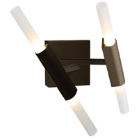 San Vicente Blvd LED 13 inch Dark Bronze Wall Sconce Wall Light