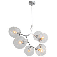 Avenue Lighting HF8070-CH Fairfax 7 Light 28 inch Chrome Chandelier Ceiling Light