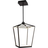 Avenue Lighting HF9400-BK Park Ave. LED 13 inch Black Hanging Chandelier Ceiling Light