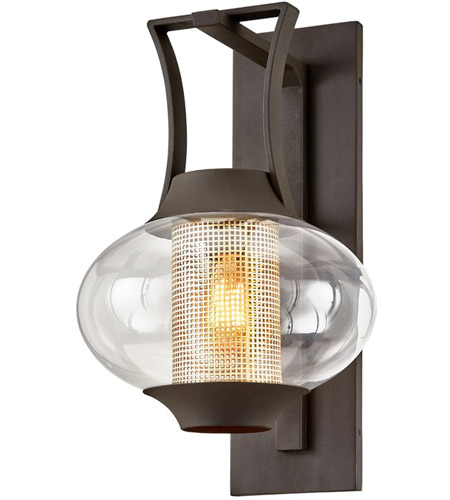 Bowery + Grove 55277-TBCI Alma Real Dr 1 Light 14 inch Texture Bronze Wall Sconce Wall Light photo thumbnail