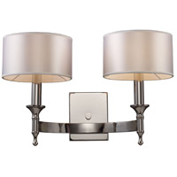 Bowery + Grove 55770-PN Glendale Fwy 2 Light 19 inch Polished Nickel Sconce Wall Light