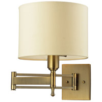 Bowery + Grove 55837-AB Glendale Fwy 1 Light 10 inch Antique Brass Sconce Wall Light
