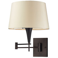 Bowery + Grove 50050-AB Grand Canal 22 inch 3 watt Aged Bronze Swingarm Sconce Wall Light in Standard