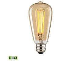 Bowery + Grove 50153-LGLG Dries LED Medium E26 Medium 4 watt 2700K Bulb - Lighting Accessory