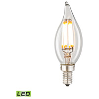 Bowery + Grove 50155-CL Dries LED B11 E12 Candelabra 6 watt 2700K Bulb - Lighting Accessory