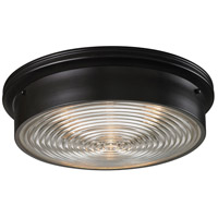 Bowery + Grove 56309-OB Kildare 3 Light 15 inch Oiled Bronze Flush Mount Ceiling Light