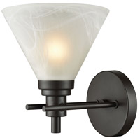Bowery + Grove 50167-ORWM Caltanissetta 1 Light 9 inch Oil Rubbed Bronze Vanity Light Wall Light