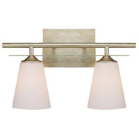 Bowery + Grove 54994-WGSW Big Wells 2 Light 17 inch Winter Gold Vanity Wall Light