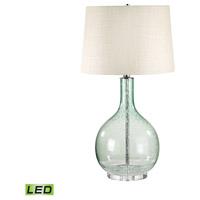 Bowery + Grove 54424-GL Peridot 28 inch 9.5 watt Green Table Lamp Portable Light in LED