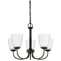 Bowery + Grove 51278-HBSE Bellmead 5 Light 22 inch Heirloom Bronze Chandelier Ceiling Light