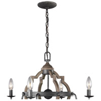 Steel Bastrop Chandeliers