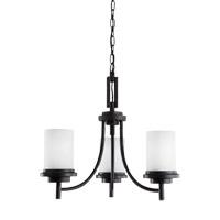 Bowery + Grove 52988-BSE Alba 3 Light 21 inch Blacksmith Chandelier Ceiling Light