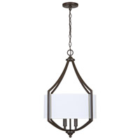 Bowery + Grove 55240-OBI Briary 4 Light 18 inch Old Bronze Pendant Ceiling Light