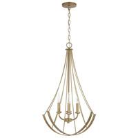 Bowery + Grove 54894-ABI Tatum 4 Light 23 inch Aged Brass Painted Pendant Ceiling Light