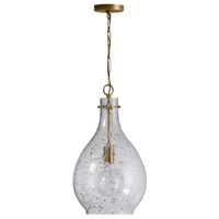 Bowery + Grove 58407-PBSS Tatum 1 Light 12 inch Patinaed Brass Pendant Ceiling Light